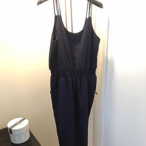 Navy blue jumpsuit - XS